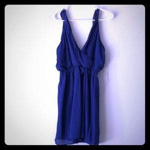 Dresses & Skirts - That shade of blue everyone loves mini dress